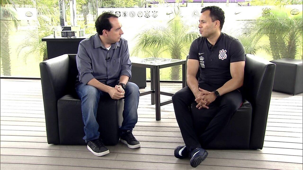 Jair Ventura fala com exclusividade ao SporTV News