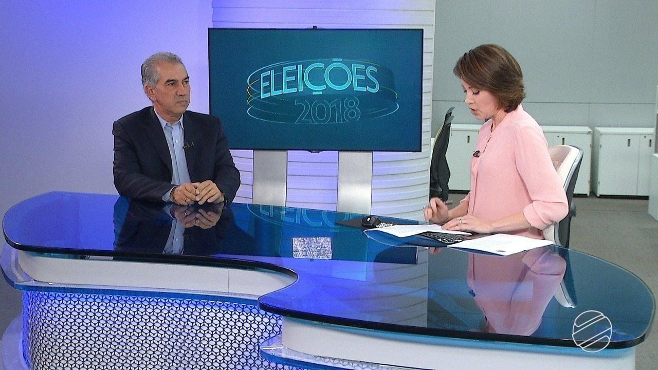 MS2 entrevista Reinaldo Azambuja, do PSDB
