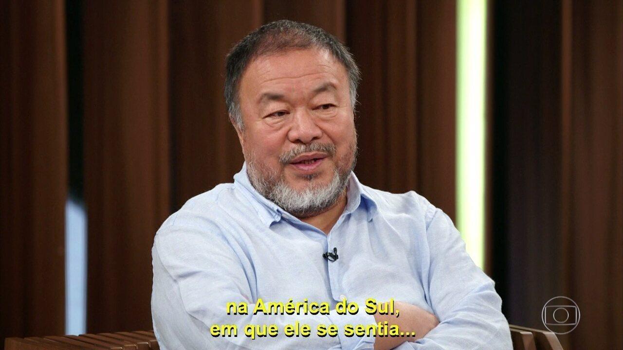 Ai Weiwei fala sobre o pai e as viagens dele pela América do Sul
