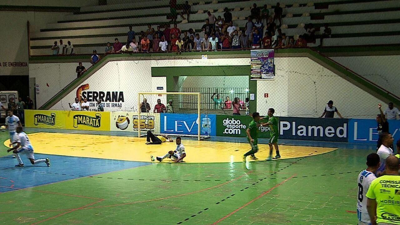 Lagarto vence São Cristóvão e avança para a semifinal