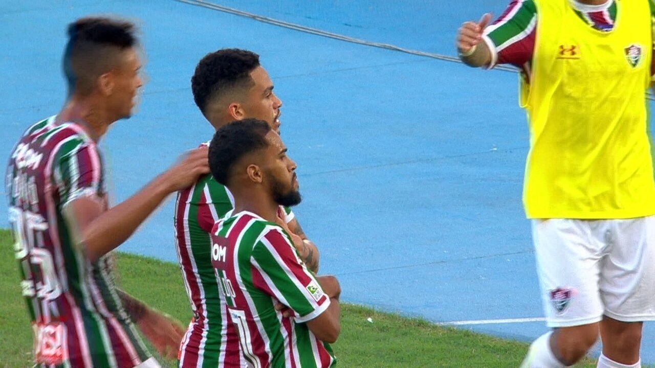 Gol do Fluminense! Flu rouba a bola, faz linda jogada e Luciano marca