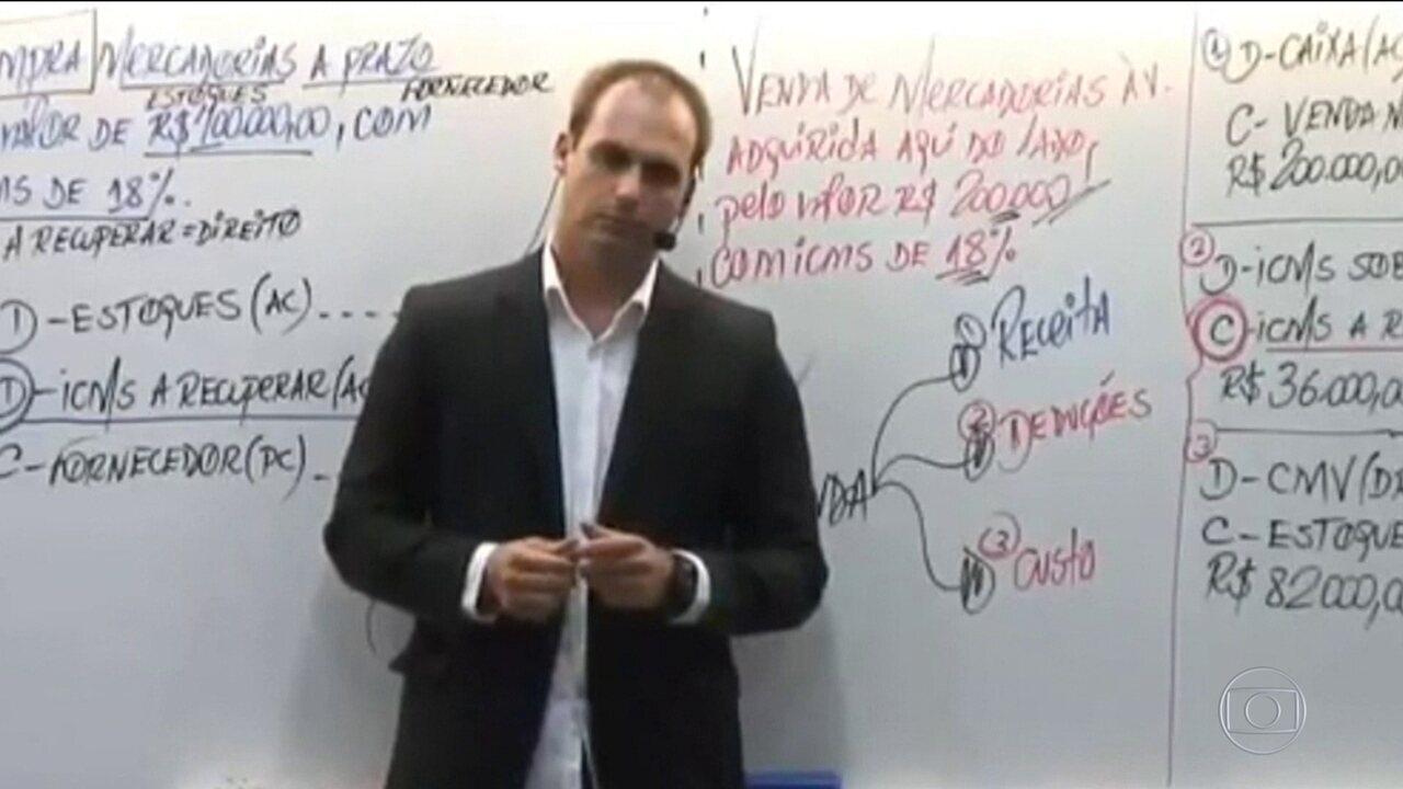 Em Vídeo Filho De Bolsonaro Diz Que Para Fechar O Stf Basta Um