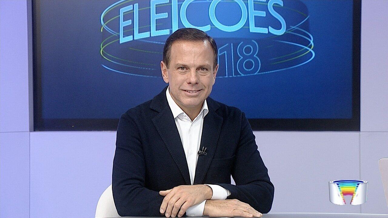 Link Vanguarda entrevista o candidato João Doria