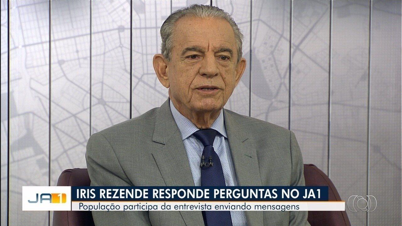 Na véspera do aniversário de Goiânia, prefeito Iris Rezende avalia sua gestão