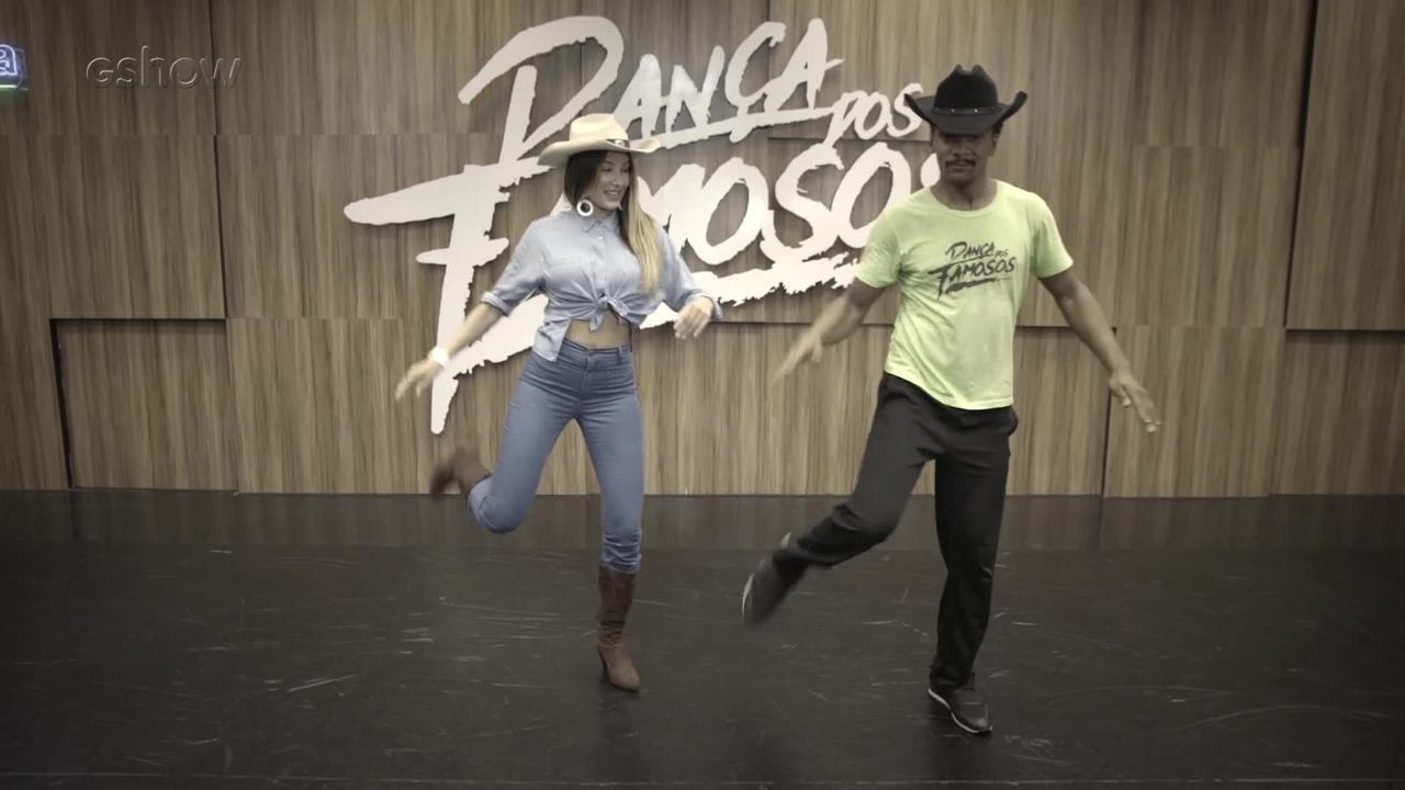 Dança dos Famosos: aprenda passos de country