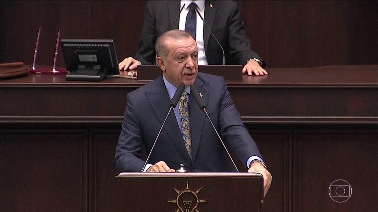 Erdogan diz que tem fortes evidências que assassinato de jornalista foi planejado