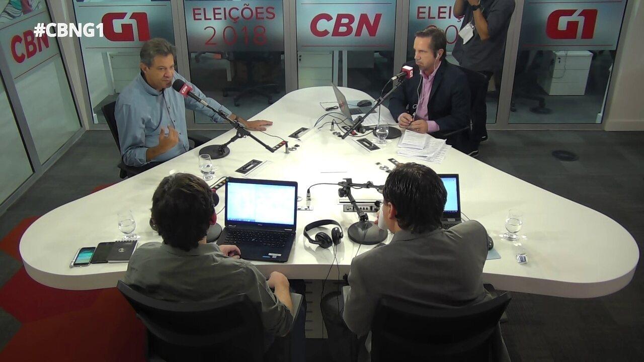 Haddad fala sobre críticas de Cid Gomes