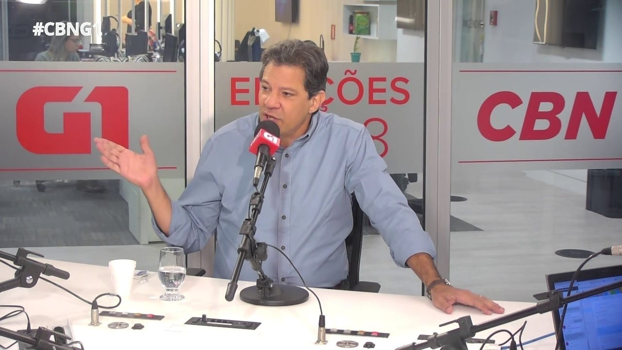 Haddad fala sobre críticas ao PT