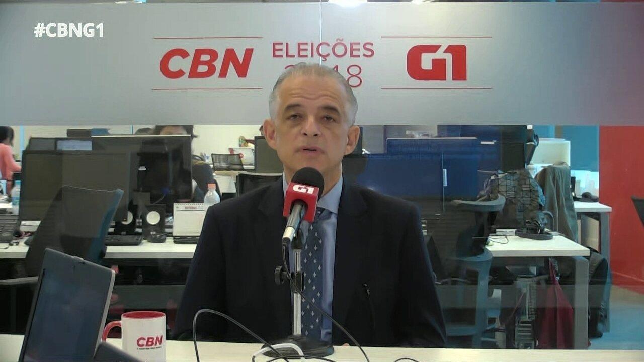 Parte 1: Márcio França fala sobre pesquisa eleitoral e Sesi/Senai