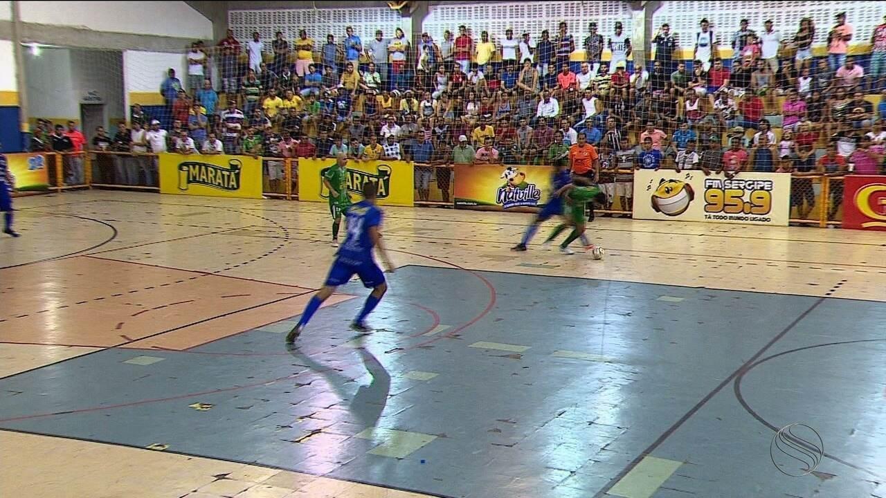 Lagarto derrota Itaporanga e larga na frente na briga por vaga na final