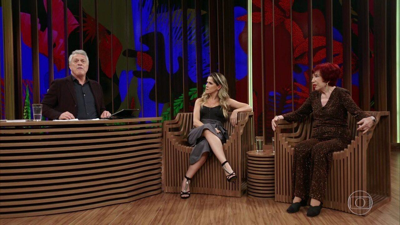 Berta Loran e Ingrid Guimarães falam sobre Chico Anysio