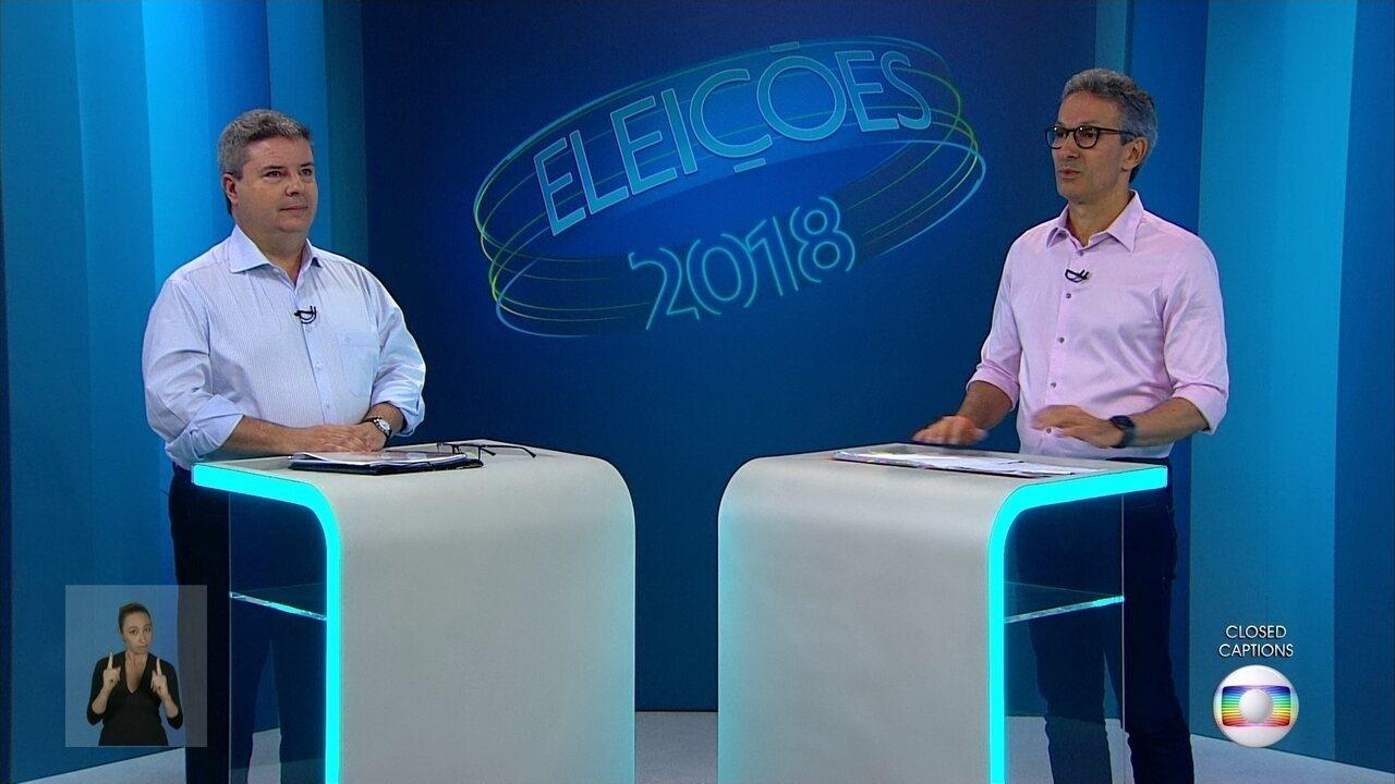 Debate dos candidatos ao governo de MG: 2º Turno - Bloco 1