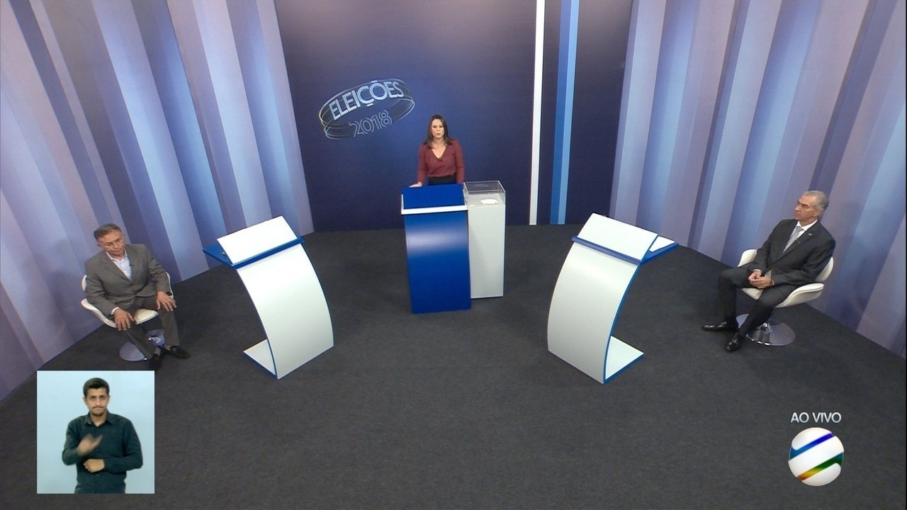 Debate para governador de Mato Grosso do Sul: 2º turno – Bloco 1