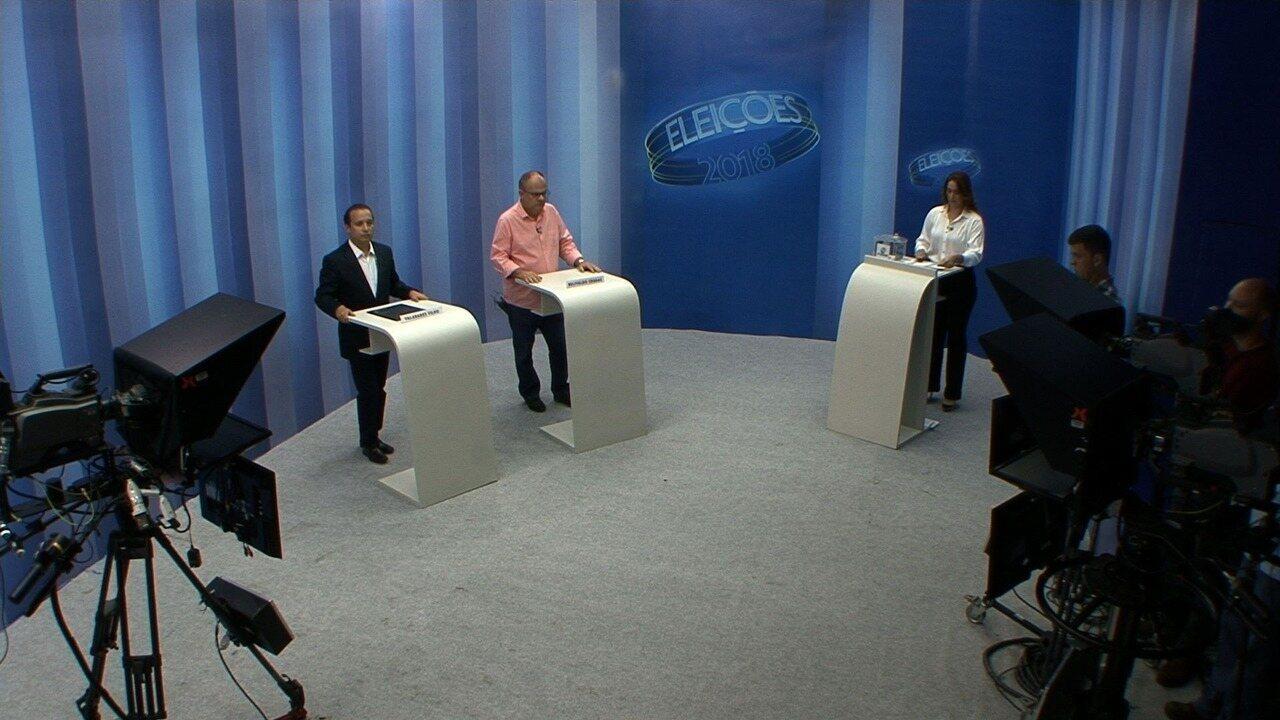 Confira o terceiro bloco do debate do 2º turno para o governo de Sergipe