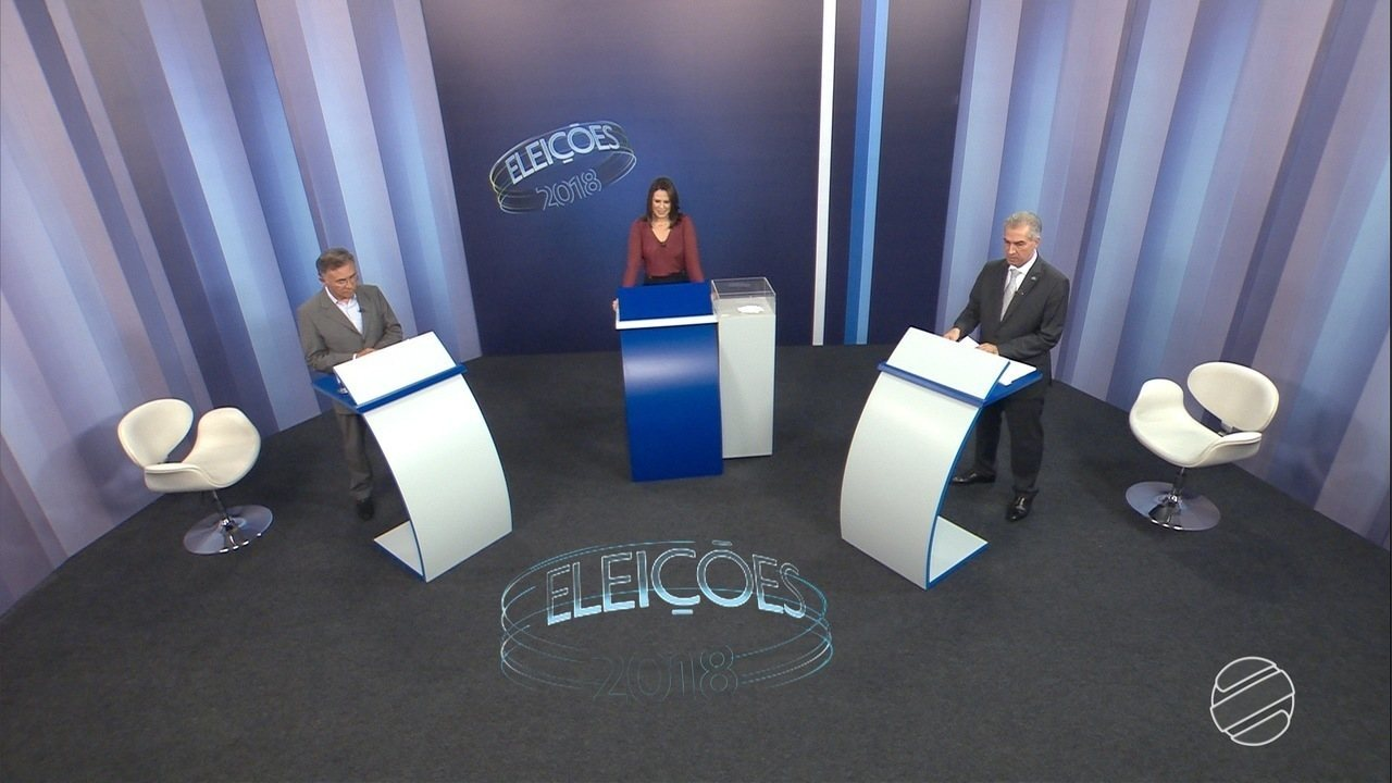 Debate para governador de Mato Grosso do Sul: 2º turno – Bloco 2
