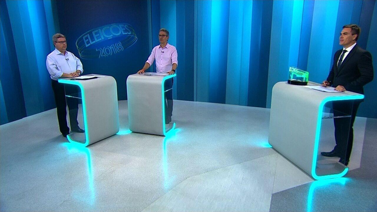 Debate dos candidatos ao governo de MG: 2º Turno