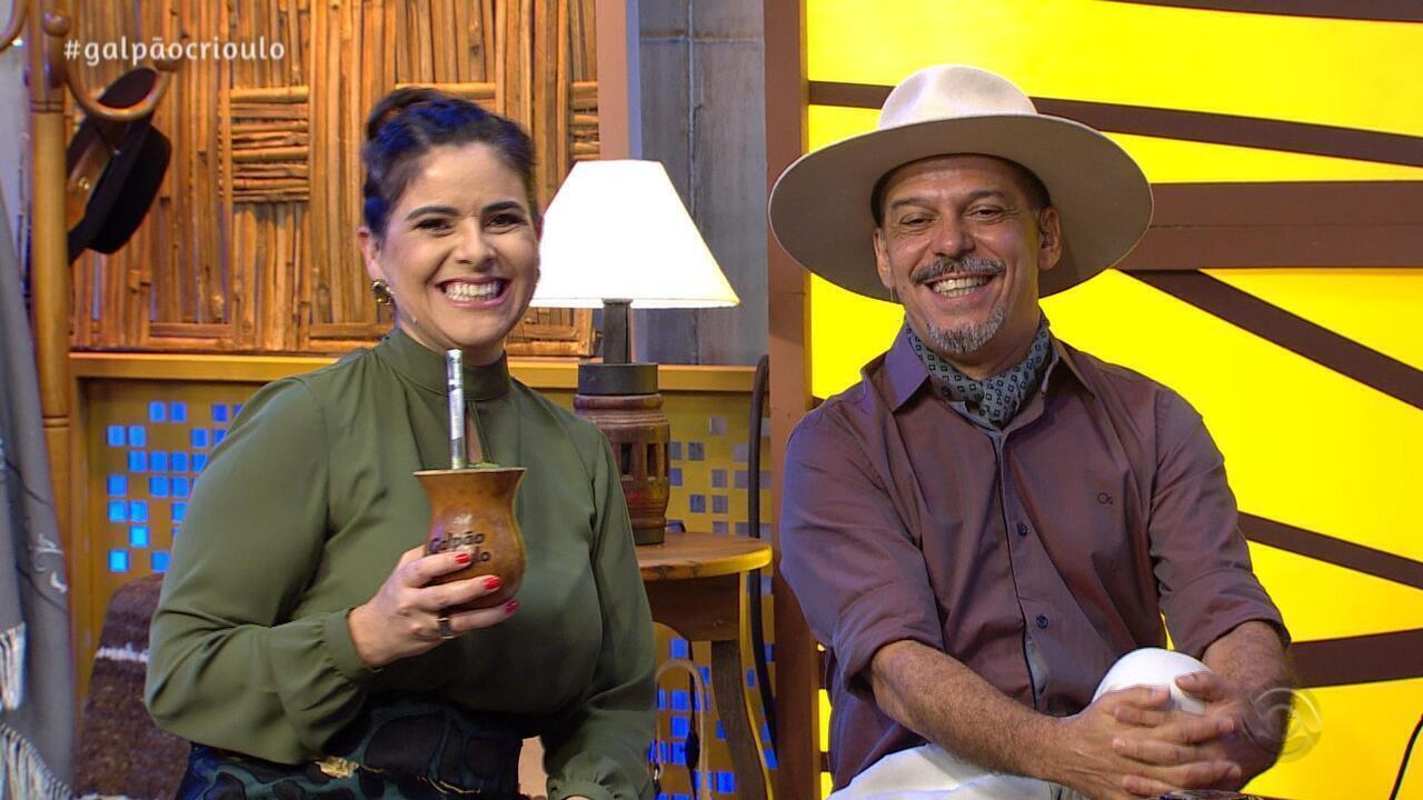 Reveja o primeiro bloco do Galpão Crioulo de domingo (28)