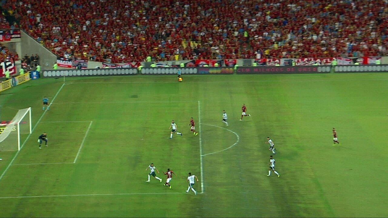 5e22ed9308534 Veja os gols de Flamengo 1x1 Palmeiras