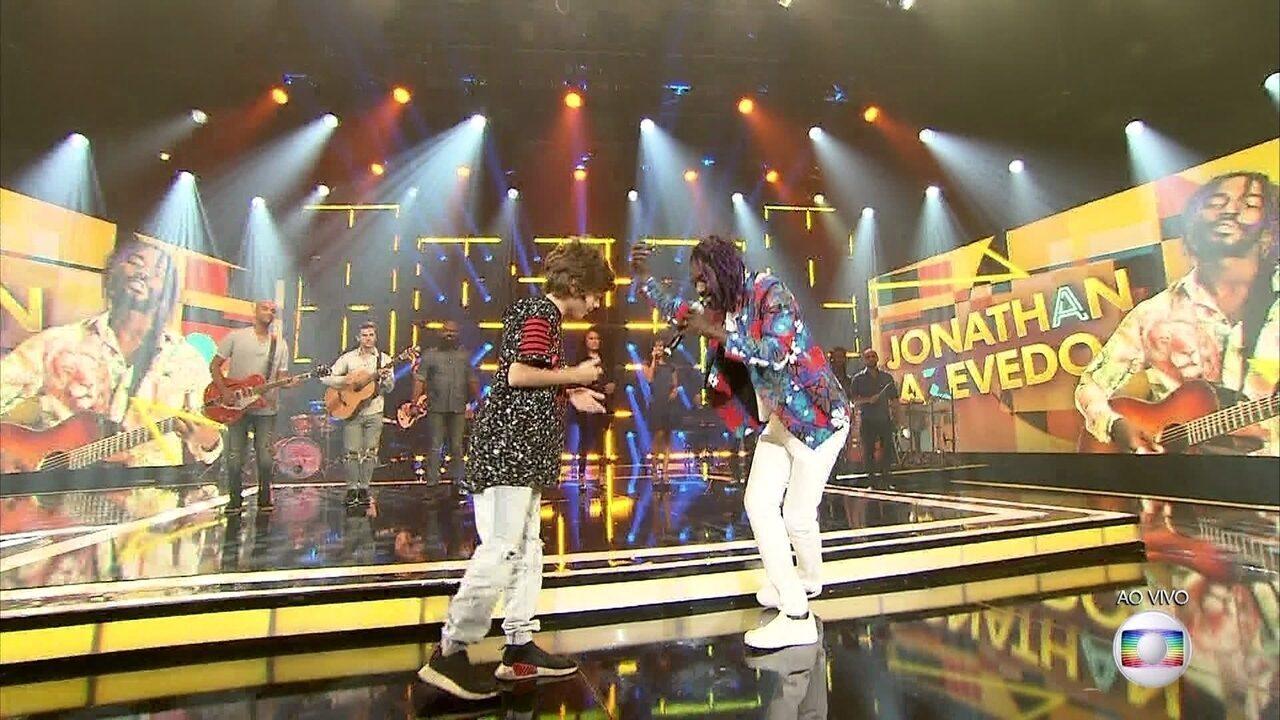 Jonathan Azevedo canta 'Todo Menino É Um Rei/ Menino Rei'