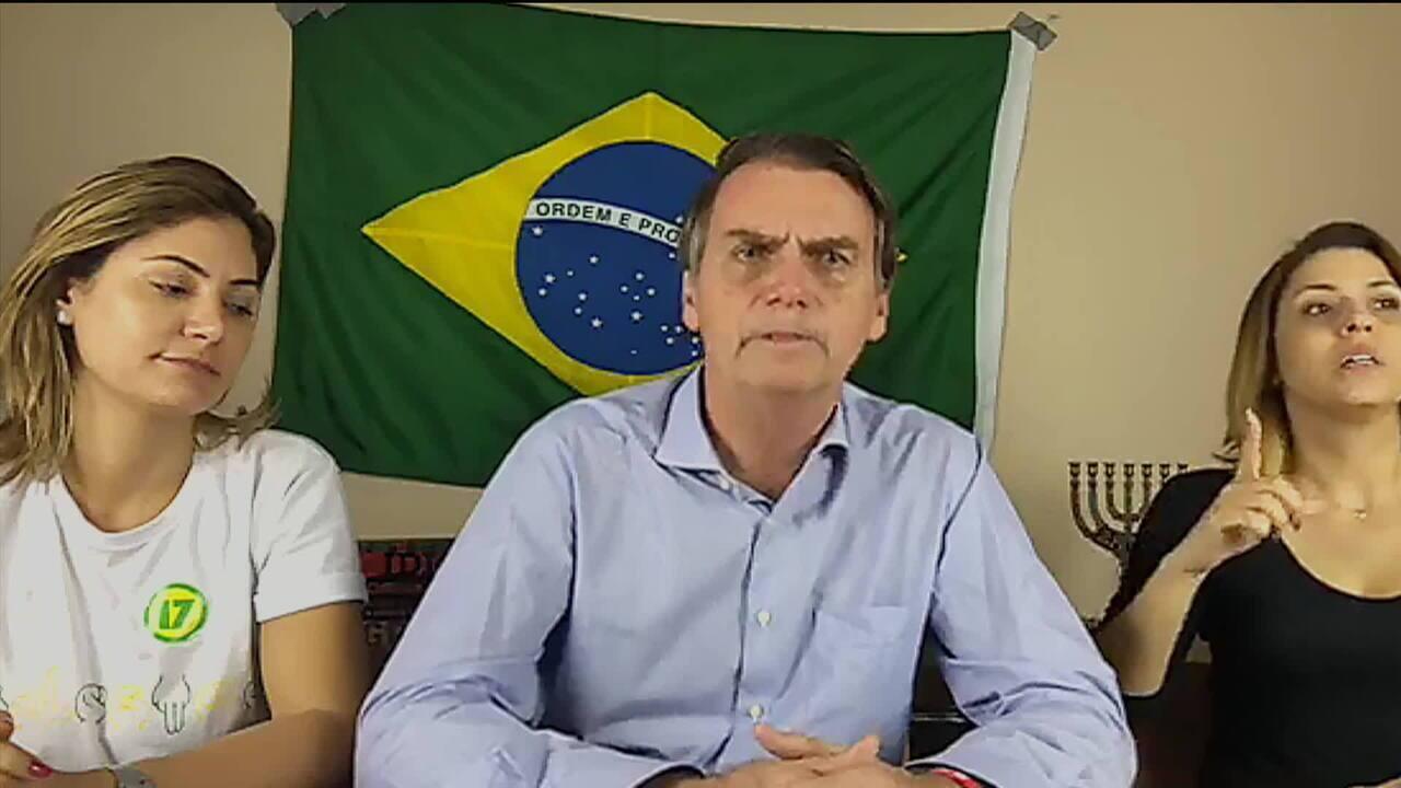 Bolsonaro diz que recebeu ligação de Trump