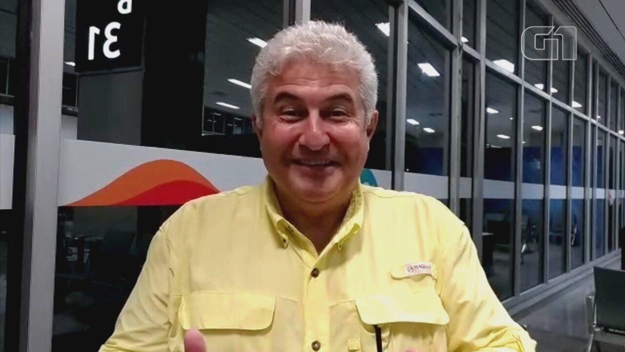 Astronauta Marcos Pontes fala sobre convite para ser ministro da Ciência e Tecnologia