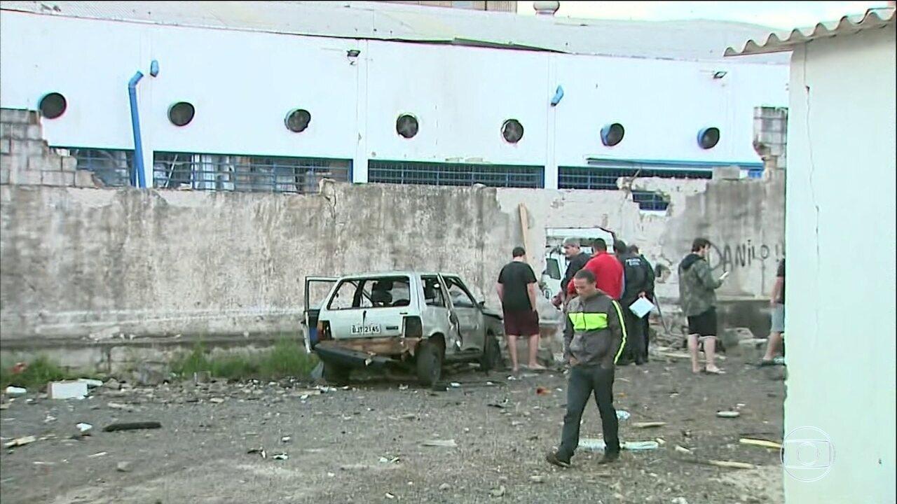 Quadrilha ataca empresa de transporte de valores em Ribeirão Preto, SP