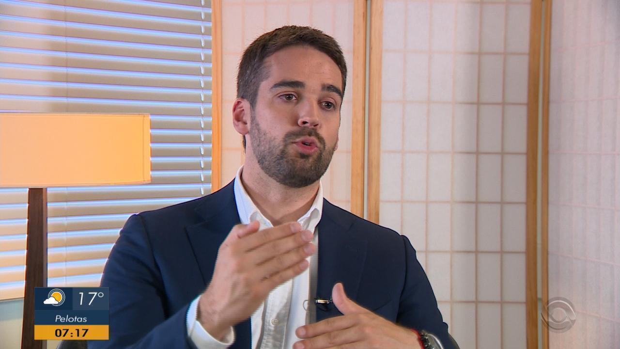 Governador eleito do RS, Eduardo Leite começa transição do governo com José Ivo Sartori