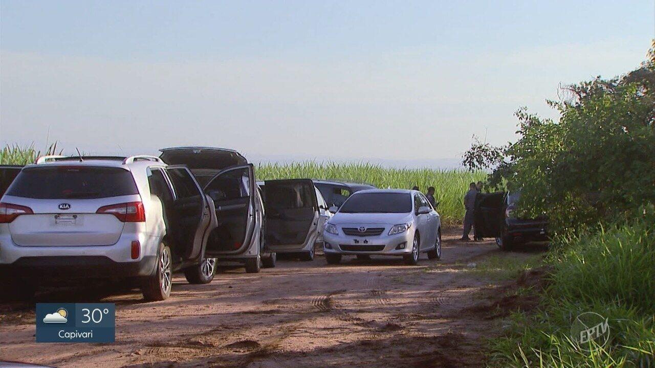 Polícia Militar encontra armas de guerra enterradas em terreno de Hortolândia