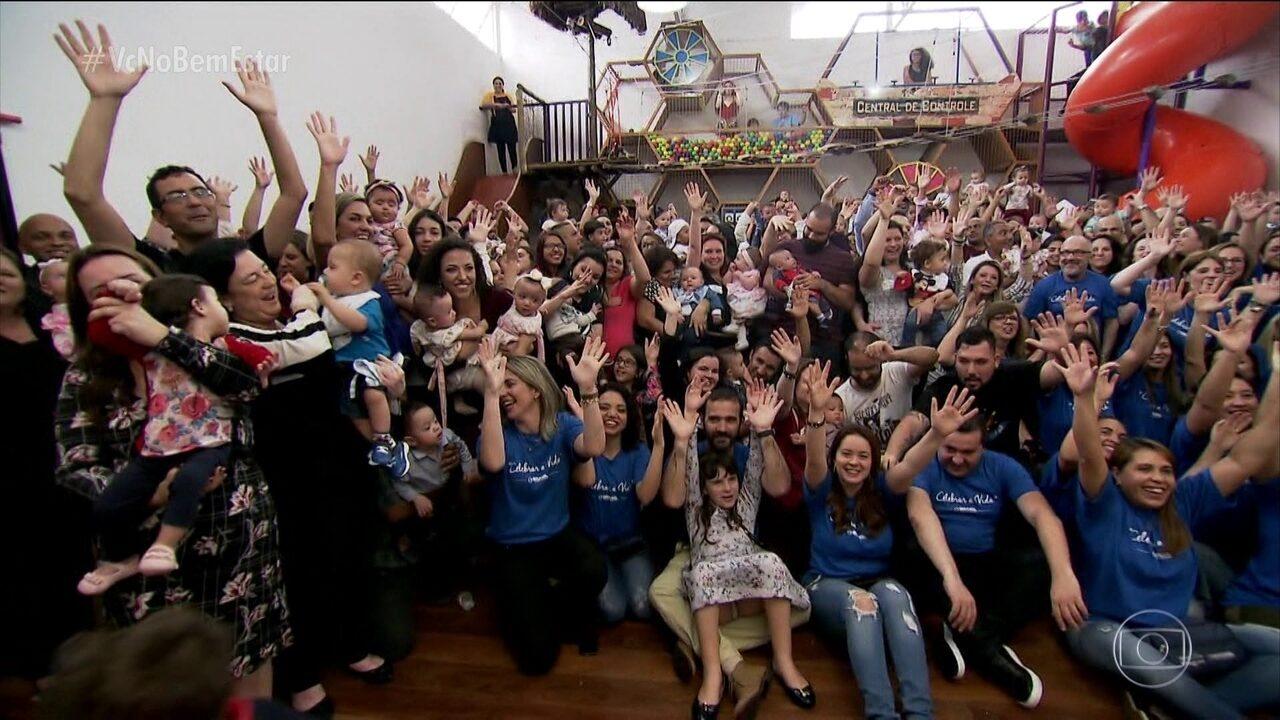 Festa celebra a vida dos prematuros em hospital de SP