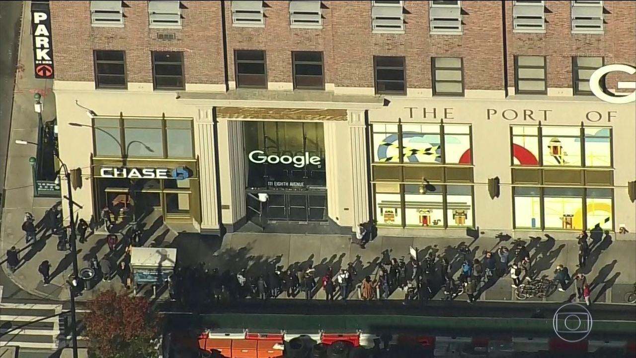 Milhares de funcionários do Google protestam pelo mundo contra assédio sexual