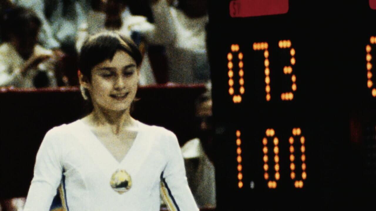 O 10 perfeito de Nadia Comaneci em Montreal 1976