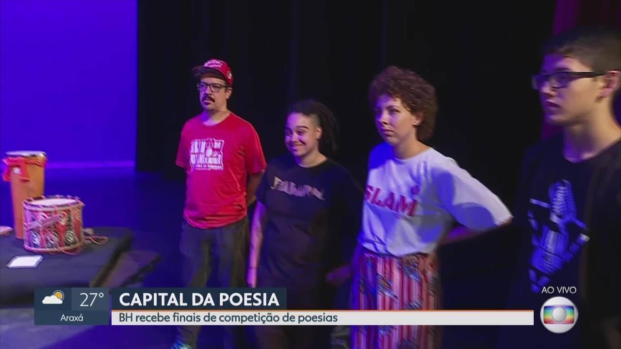 Belo Horizonte recebe finais de competição de poesias