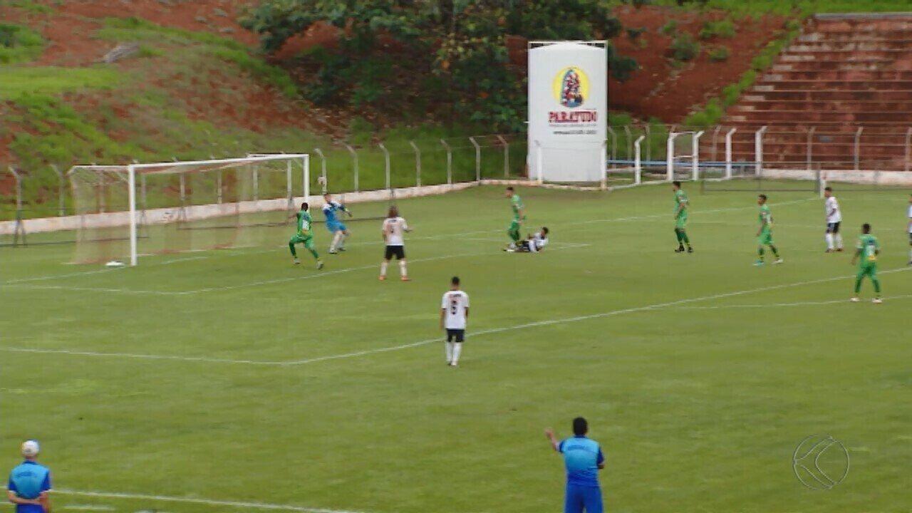 Uberlândia e Patrocínio empatam pela quinta rodada do Regional sub-20 f0bfcb490a217