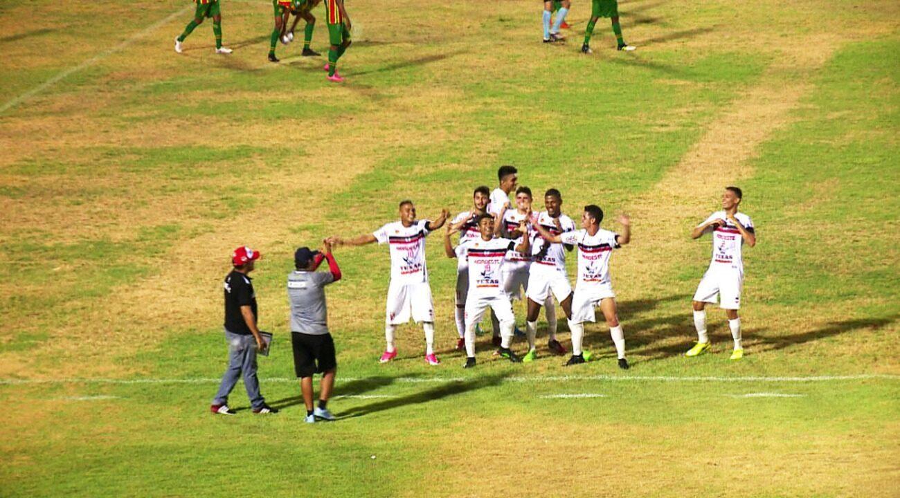 O gols de River-PI 3 x 0 Sampaio Corrêa pelo Nordestão sub-20