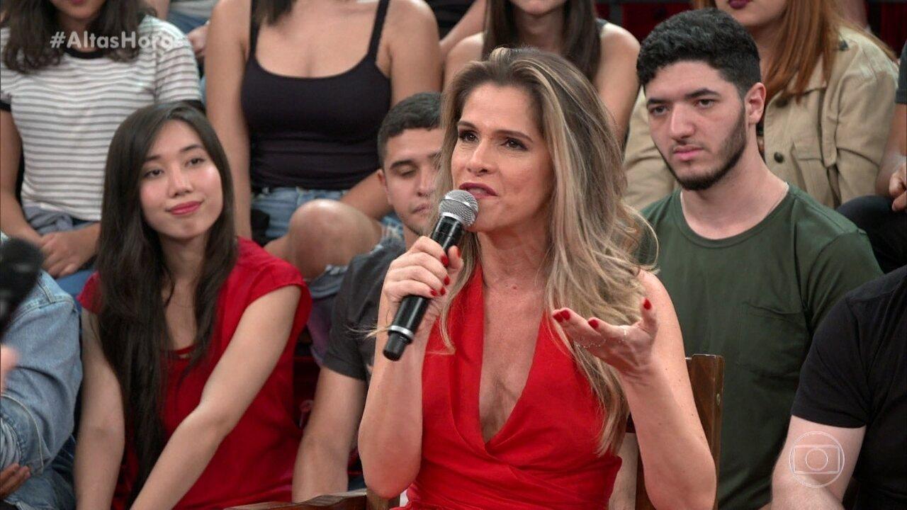 Ingrid Guimarães fala de série documental sobre o humor
