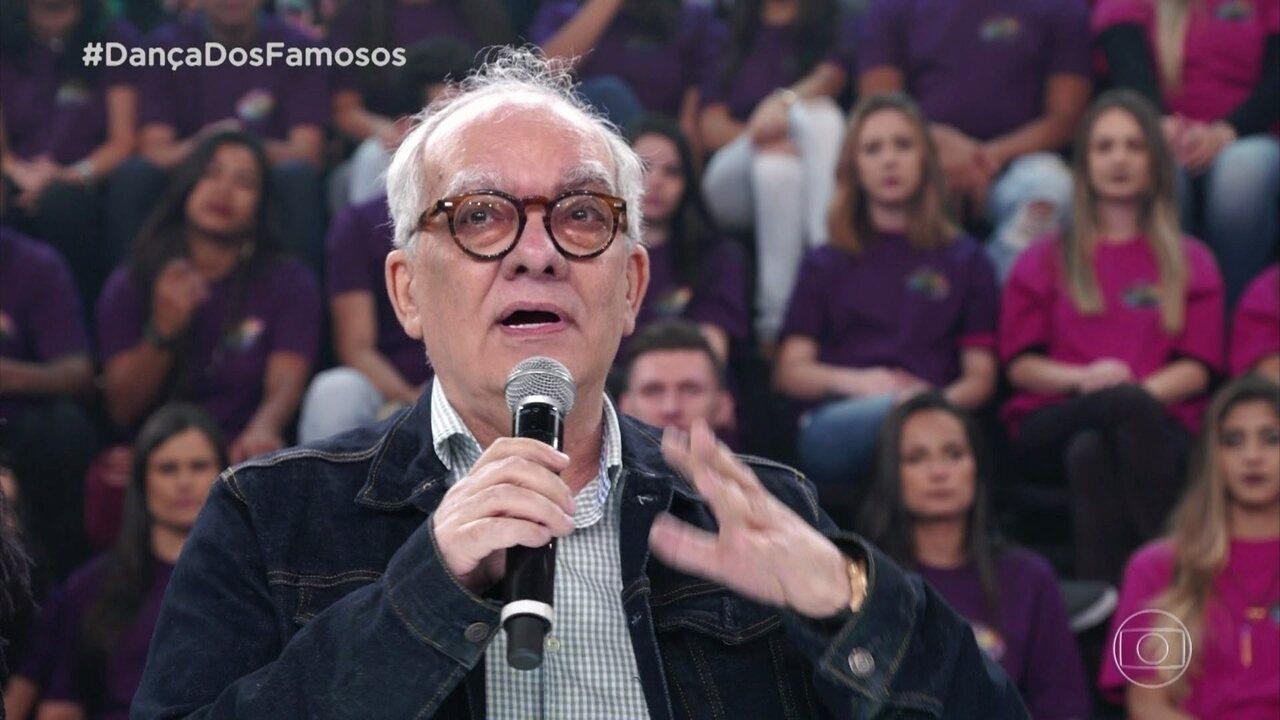 Artur Xexéo comenta apresentação de Bia Arantes e Jefferson Bilisco