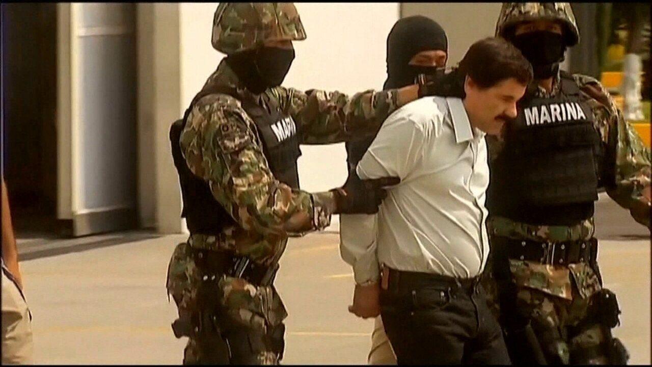 El Chapo, ex-chefe do maior cartel de tráfico de drogas do mundo, começa a ser julgado