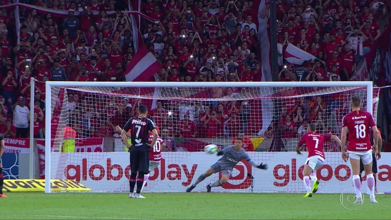 Gols do Fantástico: Palmeiras segue na frente e Internacional conquista vice-liderança
