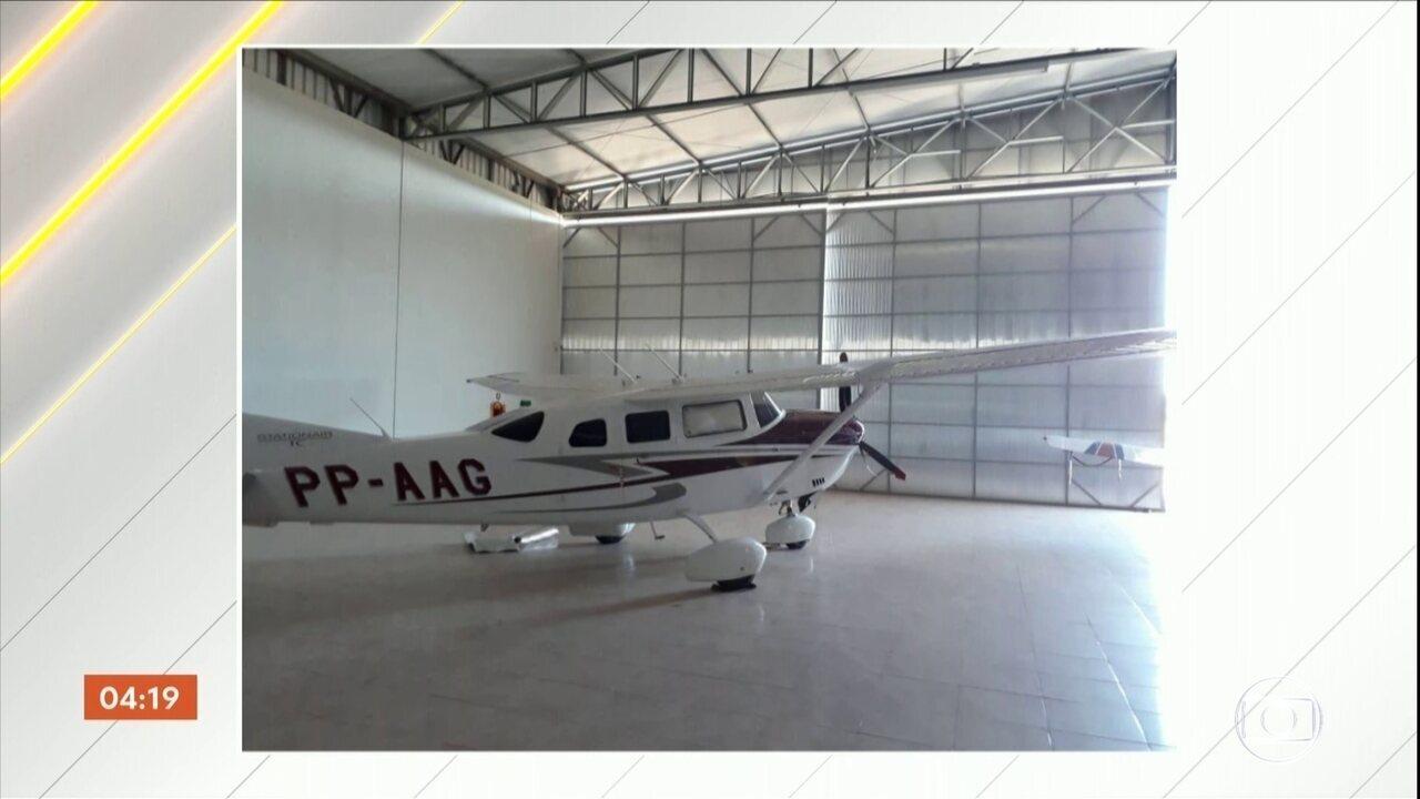 Avião de pequeno porte é furtado no aeroporto de Cacoal, cidade do interior de Rondônia