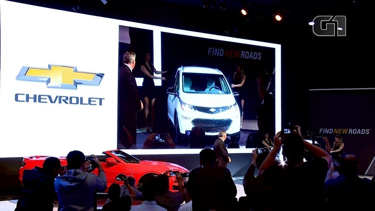Salão do Automóvel 2018: Chevrolet anuncia o seu elétrico Bolt