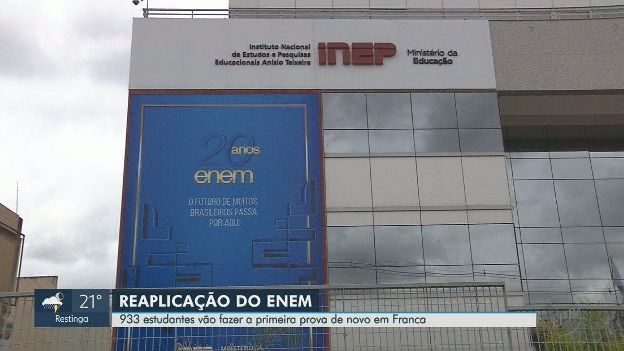 Inep confirma que avalia necessidade de usar gerador em Franca no próximo domingo