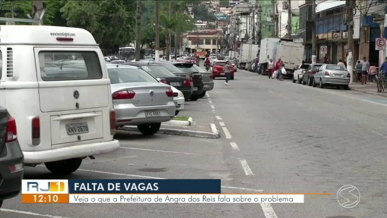 Moradores reclamam de dificuldade de estacionamento em Angra dos Reis