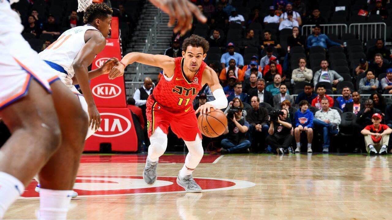 Melhores momentos: Hawks 107 x 112 Knicks, pela NBA