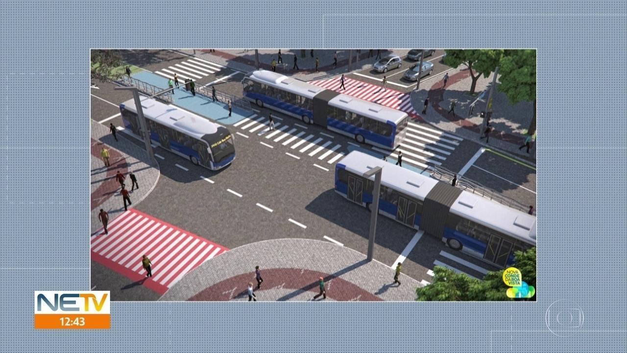 Projeto propõe mudanças estruturais na Avenida Conde da Boa Vista, no Centro do Recife