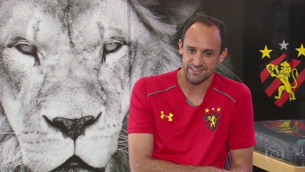 Em recuperação, Magrão fica na torcida para ver Leão na Série A, em 2019