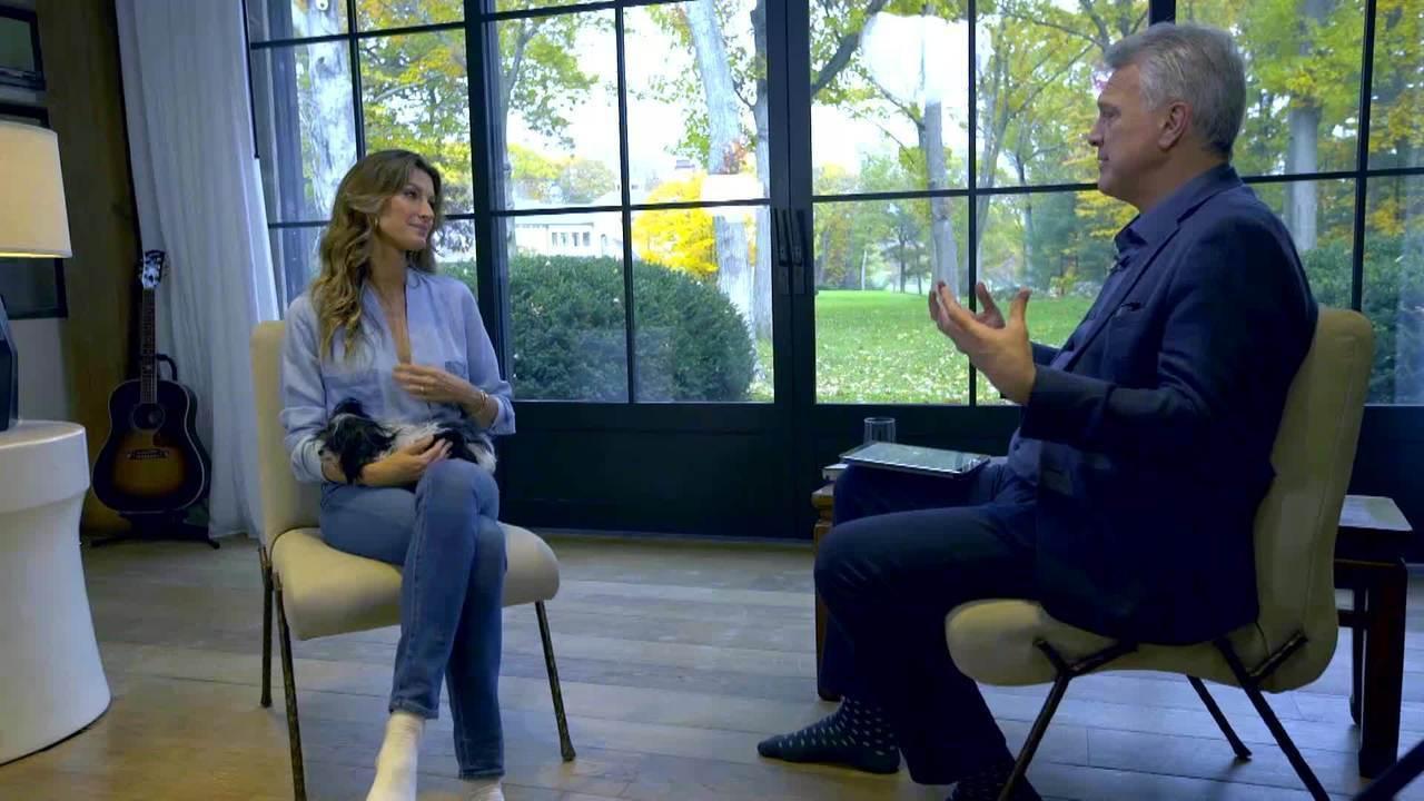 Gisele Bündchen concede a Bial primeira entrevista à imprensa brasileira sobre autobiografia