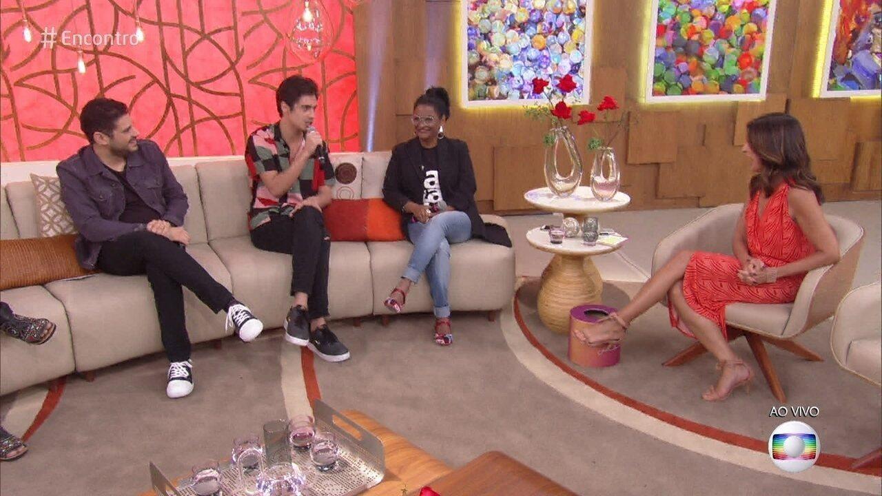 Danilo Mesquita e Claudia Di Moura comentam revelações finais de 'Segundo Sol'