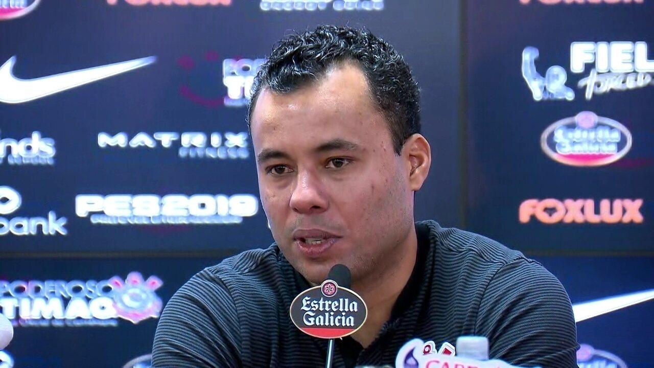 Veja como foi a entrevista coletiva de Jair Ventura, técnico do Corinthians
