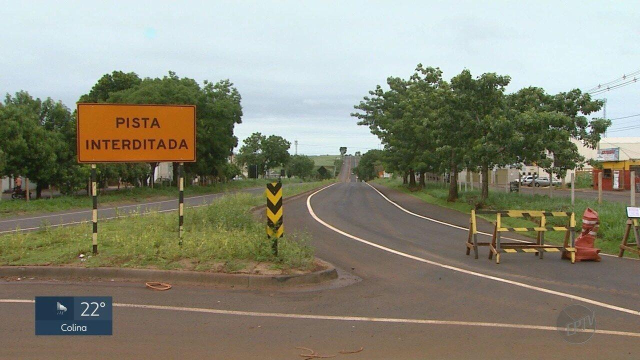 Motoristas reclamam de demora na duplicação de rodovia entre Ribeirão e Jardinópolis, SP