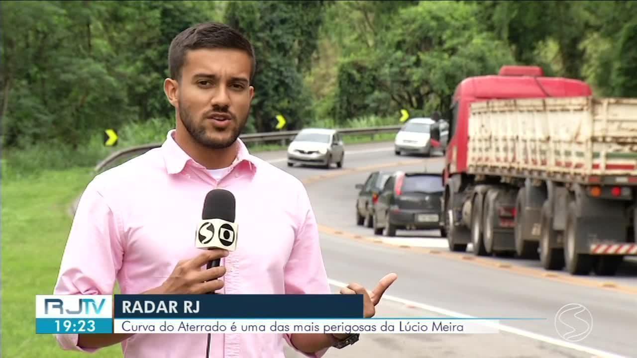 Um dos mais perigosos do Sul do RJ, trecho da BR-393 registra alto índice de acidentes